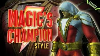 DCUO Shazam! Time Capsules Magic's Champion Style (Inspired by Shazam) Justice League Chew