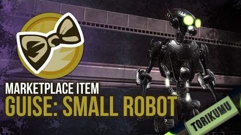 DCUO Guise Small Robot Marketplace Trinket - DC Universe Online