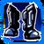 Icon Feet 010 Blue