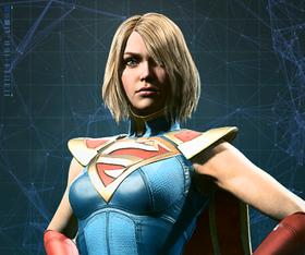 Injustice 2 Portrait Supergirl