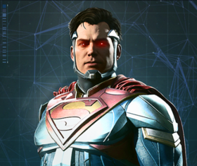 Injustice 2 Portrait Superman