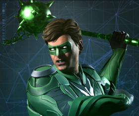 Injustice 2 Portrait Lanterna Verde