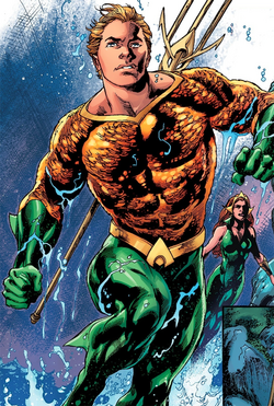 Aquaman DCU Rebirth 1