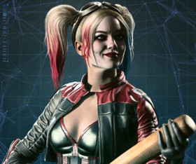 Injustice 2 Portrait Arlequina