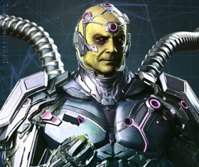 Injustice 2 Portrait Brainiac