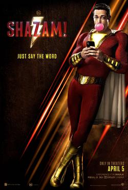 Shazam 2019 Poster CCXP