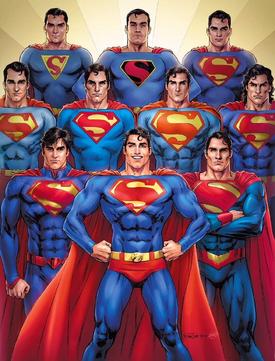 Superman versões