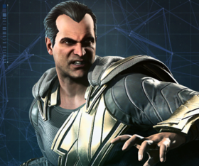 Injustice 2 Portrait Adão Negro
