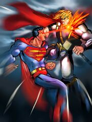 Superman Vs Thor by darklord028