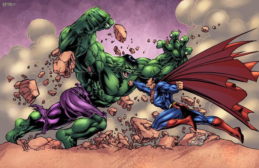 superman vs hulk dc vs marvel wiki fandom powered by wikia