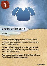 Arrowcatching shield