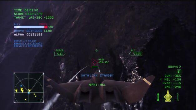 Ace Combat Infinity Underground Target