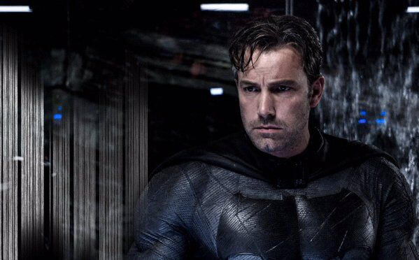 Batfleck in thought