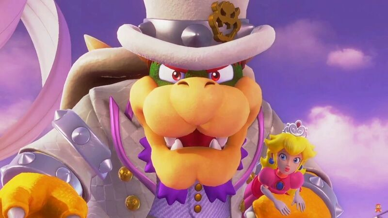 has bowser become a pimp now in super mario odyssey fandom