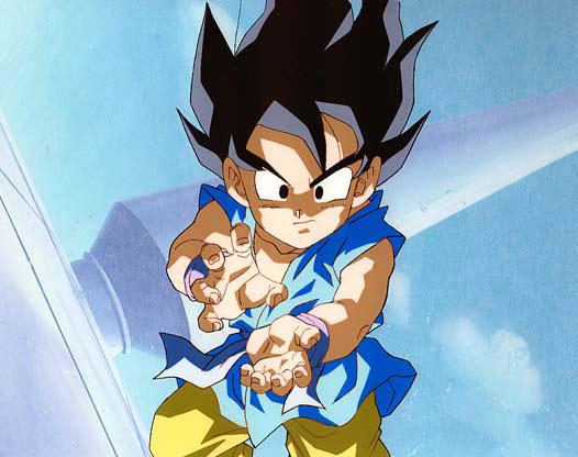 Kid Goku kamehameha