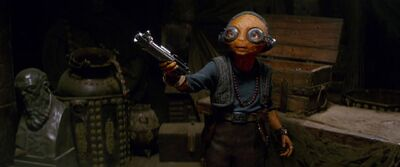 'The Last Jedi' Reveals This Surprising Thing About Maz Kanata