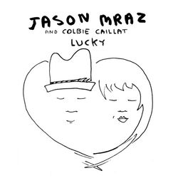 Jason Mraz - Lucky (Official Single Cover)