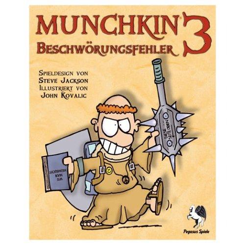 Munchkin 3 Beschwörungsfehler | Munchkin Wiki | FANDOM powered by Wikia