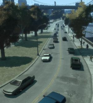 GTA IV Franklin Street Dukes