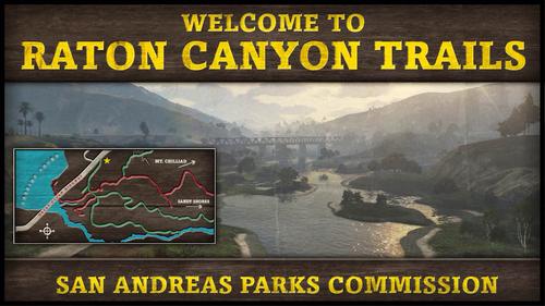 Raton-Canyon-Ansichtskarte