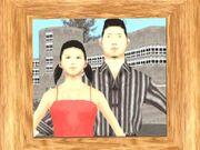 Katie Zhan und ein Freund