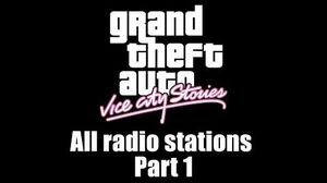 GTA Vice City Stories - All radio stations Part 1