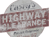 Casey's Highway Clearance