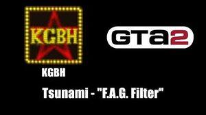 """GTA 2 (GTA II) - KGBH Tsunami - """"F.A.G"""