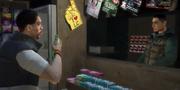 Passant am Kiosk