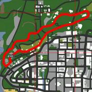 Backroad-Wanderer-Karte