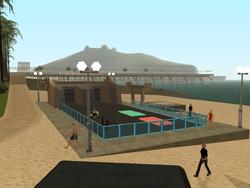 Verona Beach-Fitnessstudio