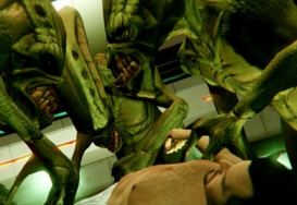 Alien Untersuchung