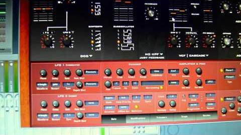 Analog sounding VST Synth Ambient