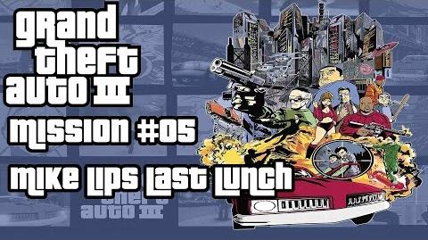GTA 3 HD - Walkthrough - Mission 05 - Mike Lips last lunch - Deutsch German English