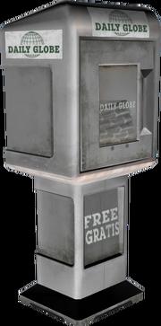 Daily-Globe-Zeitungsautomat