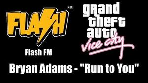 "GTA Vice City - Flash FM Bryan Adams - ""Run to You"""