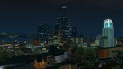 Downtown Skyline nachts