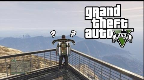 Grand Theft Auto 5 - Jetpack Theory Location! ( Involving UFO Easter Eggs )