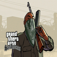 AK Gangster Artwork