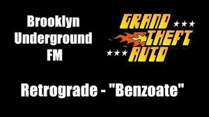 "GTA 1 (GTA I) - Brooklyn Underground FM Retrograde - ""Benzoate"""
