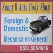 Sunny B Auto Parts Logo