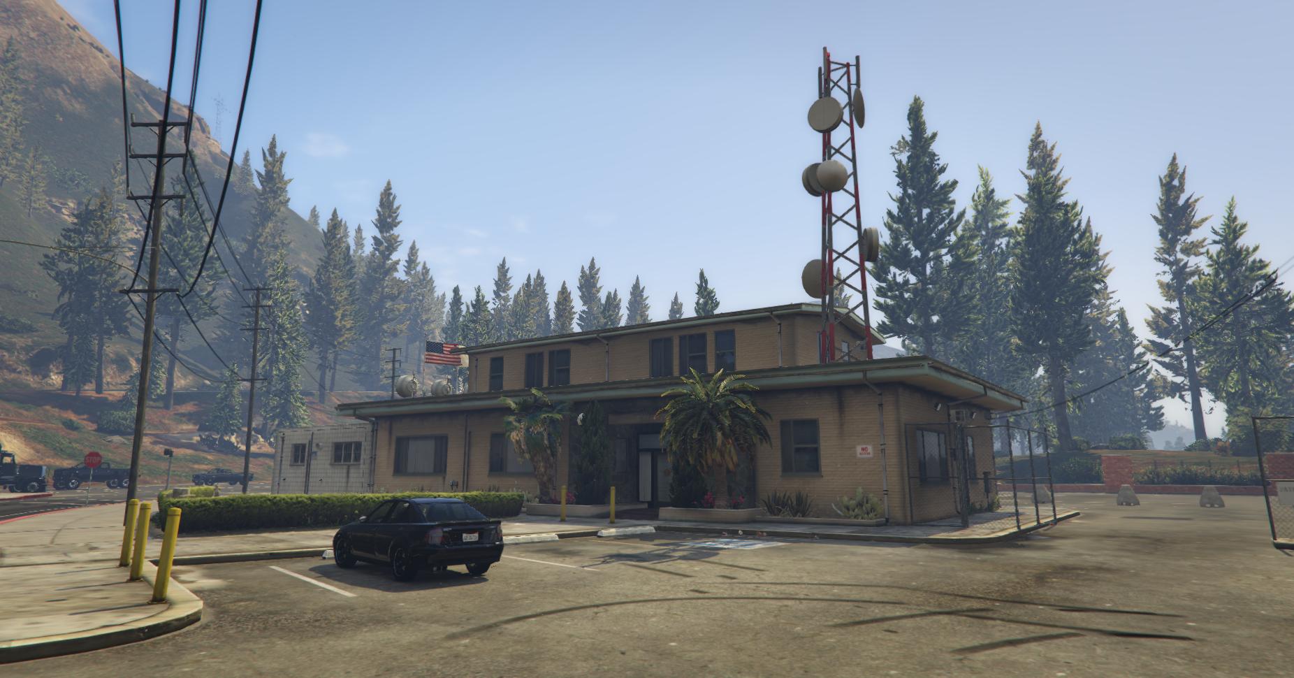 Gta 5 Karte Polizeistation.Paleto Bay Sheriff S Office Gta Wiki Fandom Powered By Wikia