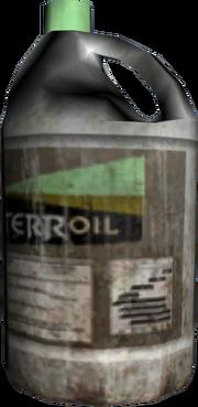 Terroil-Ölkanister