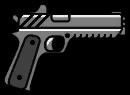 Schwere-Pistole-HUD-Symbol