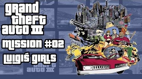 GTA 3 HD - Walkthrough - Mission 02 - Luigi´s girls - Deutsch German English