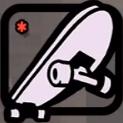 Skateboard-Icon, SA