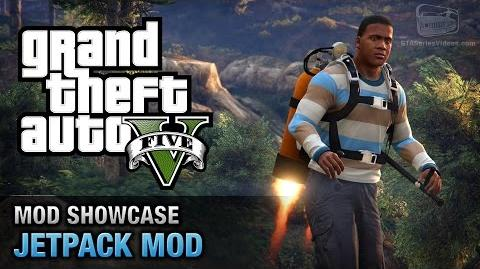 GTA 5 PC - Jetpack Mod Mod Showcase
