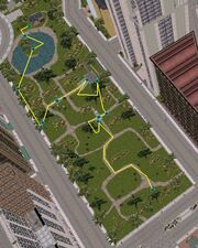 GTA III Spazierfahrt im Park Übersicht