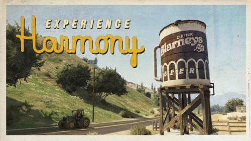 Harmony-Ansichtskarte