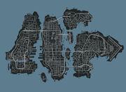 Liberty city IV map